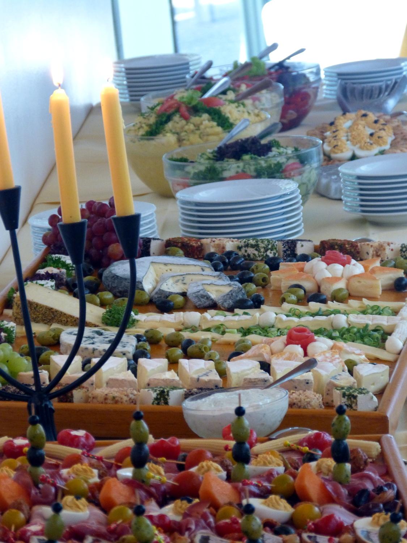 Ein Buffet vom Team des Bodolzer Dürfstübles - Immer ein Erlebnis!