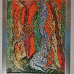 Acryl, Airbrush auf Malmolton Keilrahmen